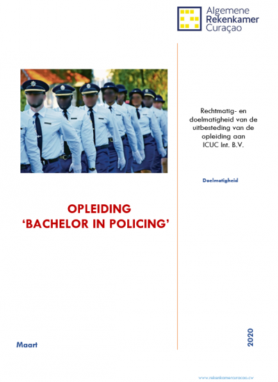 Opleiding 'Bachelor in policing